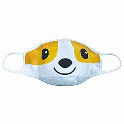Corgi Face Mask Child