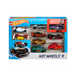 Hot Wheels Gift Pack 9 pack