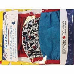 Face Mask Puppy/Ruby/Blue set of 3