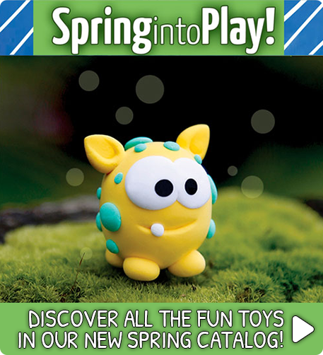 Discover all the fun toys in our new spring toy catalog!